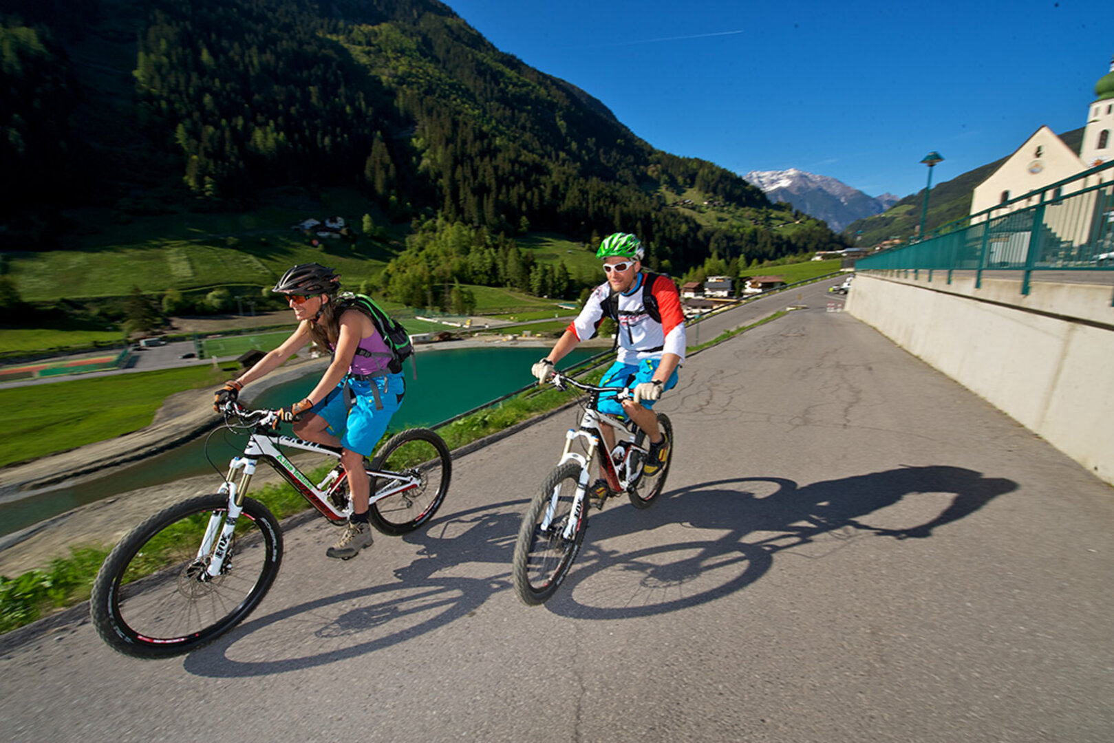 Mountain Bike Tours Tyrol Mtb Galtr Above Is The Circuit Board Which Attaches To Your Spokes Below A Length 28 Km Altitude Difference 828 M Difficulty Easy